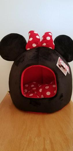 Disney Mickey & Minnie Mouse Dog/Cat Bed Collection Black Mi