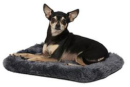 Midwest Quiet Time Gray 18 Inch L X 12 Inch W Dog Bed. **Fre