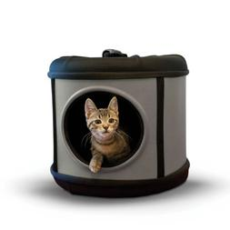 K&H Pet Products Mod Capsule Pet Carrier & Shelter Gray/Blac