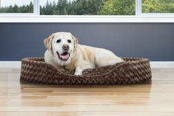 FurHaven™ NAP Pet Bed Ultra Plush Oval Lounger Dog or Cat