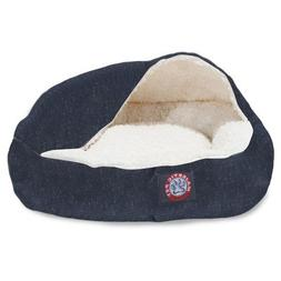 18 inch Navy Wales Canopy Cat Bed