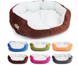 New Colorful Washable Pet Beds for Small Medium Sized Dogs C