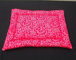 new cotton crate mat dog bed red