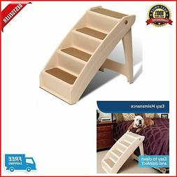 New Dog Pet Ladder Bed Steps Portable Folding Stairs Extra L