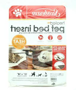 NEW ~ Sunbeam Electric  Heated Pet Pad Bed Insert for Cats D
