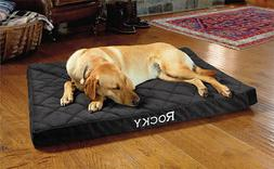"New Orvis Memory Foam Platform Dog Bed XL 53 X 35 ""Cover Onl"