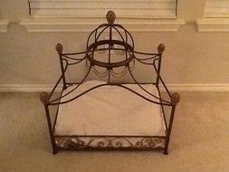 NEW Neiman Marcus fancy dome canopy dog cat pet bed*******HO
