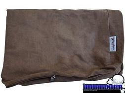 NEW PET DOG BED REPLACEMENT COVER DOGBED4LESS BROWN DURABLE