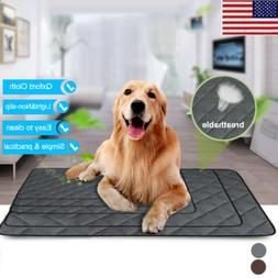 NEW Pet Dog Cooling Mat Pad Comfort Gel Cooler Crate Bed Chi