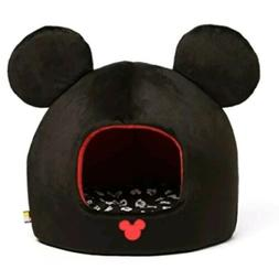 NWT NEW DISNEY MICKEY MOUSE BLACK & RED PET DOG OR CAT HOUSE