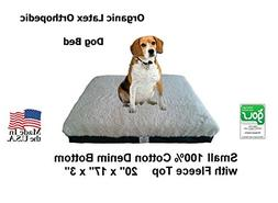 Pet Support Systems Organic Latex Pet Bed - Small Breed Dogs