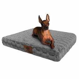 American Kennel Club Orthopedic Crate Pet Bed, 24 by 19-Inch