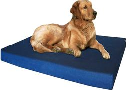 Dogbed4less Orthopedic Dog Bed with Memory Foam for Medium L