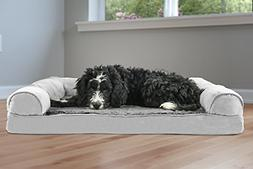 Orthopedic Dog Couch Large - Sofa Pet Bed for Dogs and Cats