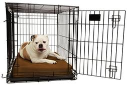 "Orthopedic 4"" Dog Crate Pad by Big Barker - 36"" x 24"". Water"