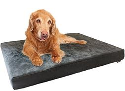 Dogbed4less XXL Orthopedic Gel Infused Cooling Memory Foam D