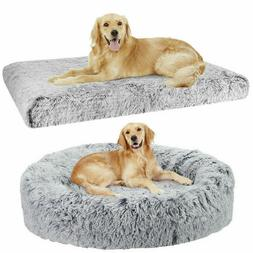Orthopedic Large Dog Bed Pet Lounger Deluxe Cushion Crate Wa