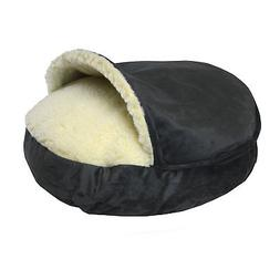 Snoozer Orthopedic Luxury Micro Suede Cozy Cave Pet Bed in A