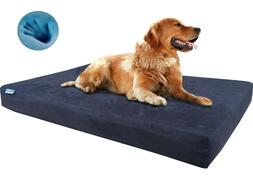 Dogbed4less Memory Foam Pet Bed for Small Medium Large XL Do