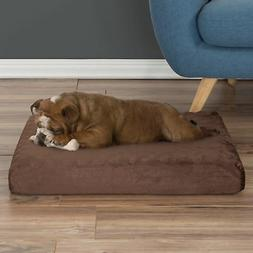 Orthopedic Pet Bed - Egg Crate and Memory Foam with Washable