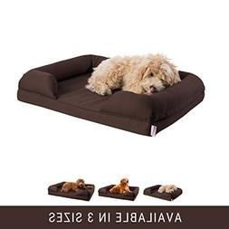 Petlo Orthopedic Pet Sofa Bed - Dog, Cat or Puppy Memory Foa