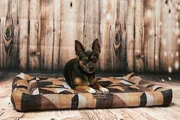 Orthopedic Rectangle Dog Bed with Washable Cover