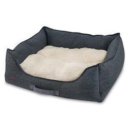 Best Pet Supplies Premium Oxford Polyester Filled Plush Bed,