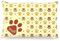 "Kess InHouse KESS Original ""Bear"" Paw Checkered Pattern Name"
