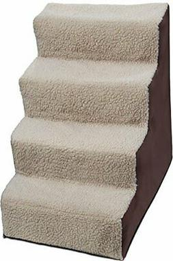 Paws & Pals Dog Stairs to get on High Bed for Cat and Pe