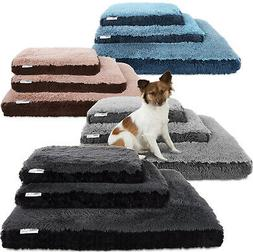 Paws and Pals Dog Bed for Pets and Cats - Bolster Foam Delux