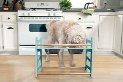 pet adjustable feeder stand for dogs