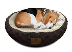 """American Kennel Club Pet Bed 28"""" Round."""