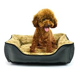 Pet bed , Washable Cozy Fabric Sofa with Good Cover Material
