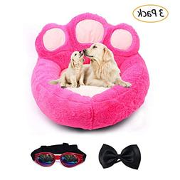 Be Good Pet Bed Anti-Slip Bottom Cute Paw Shaped Dog Sofa Be