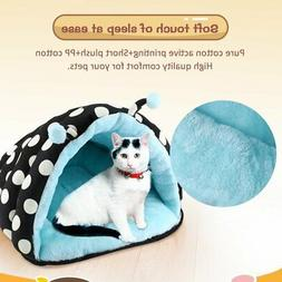 Pet Bed Cushion Mat Pad Dog Cat Kennel Crate Warm Cozy Soft