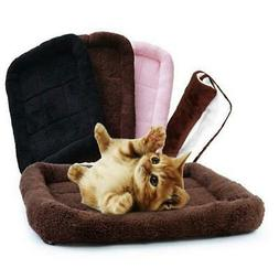Pet Bed Cushion Mat Pad Dog Cat Cage Kennel Crate Warm Cozy