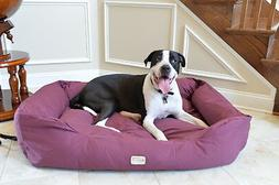 Armarkat Pet Bed 49-Inch by 35-Inch D01FJH-Xtra Large, Burgu
