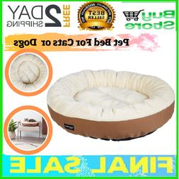 Pet Bed For Cats or Dogs Puppy Warm Ultra-Soft Plush, Comfor