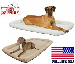 Pet Bed for Dog Cat Large 48 Crate Mat Soft Warm Pad Liner H