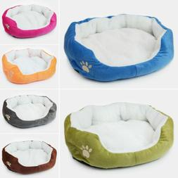 Pet Bed Mat Puppy Dog Cat Cushion House Warm Kennel Pad Mats