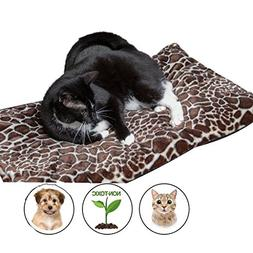 Easyology Pet Bed Mat by Self Warming Dog Bed Crate Pad for