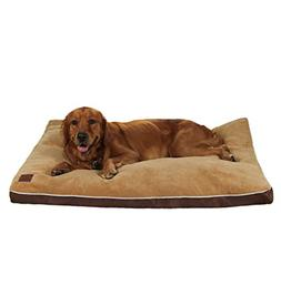 QIAOQI Pet Bed Orthopedic Waterproof Designer Memory Foam Do