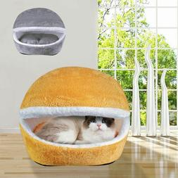 Pet Bed Waterproof Dog Cat House Cave Home Accessories Winte
