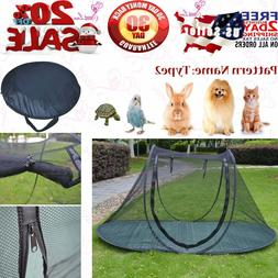 Pet Camping Tent Playpens Cage for Dogs Cats - Birds Parrots
