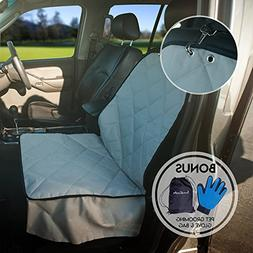 Pet Car Seat Protector For Dog, Fully Waterproof & Non-Slip