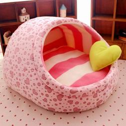 Pet Cat Dog Bed House Kennel Pet Warm Beds For Small Medium