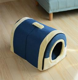 Pet Cat Igloo Bed Small Dog Soft Bed Met House Waterproof Co