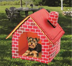Pet Cat Small Dog Bed House Villa Removable Cover Free shipp