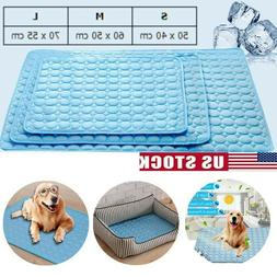 Pet Cooling Mat Cool Gel Pad Cooling Pet Bed Cushion Dog Bla