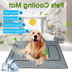 Pet Cooling Mat Non-Toxic Cool Pad Pet Bed For Summer Dog Ca